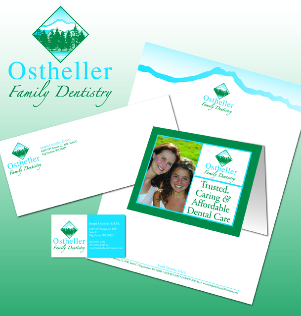 Original logo and stationery designs done for clients.